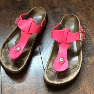 Betula by Birkenstock Pink Thong Sandals